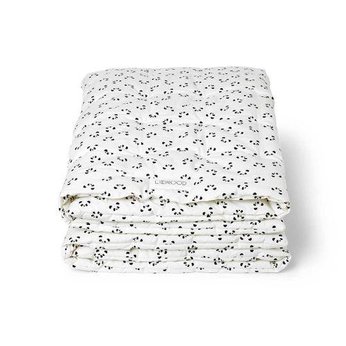 AGNES detská deka panda a krémová