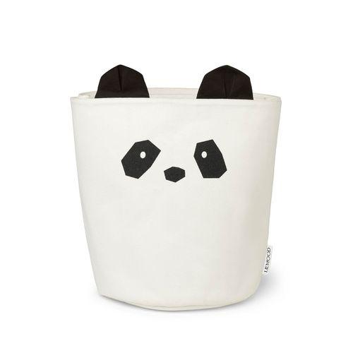 ELLA textilný kôš - Panda
