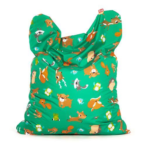 Tuli Sofa Snímateľný poťah - Polyester Vzor Lesné zvieratká
