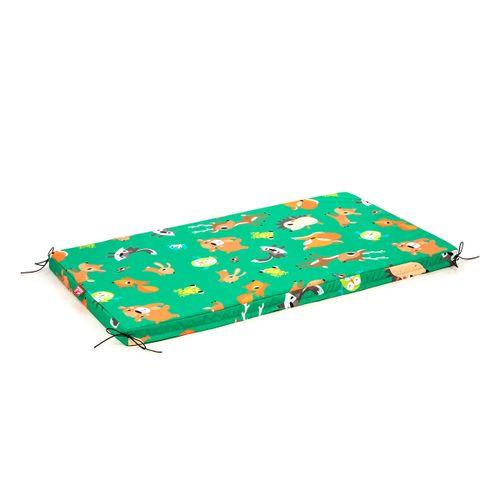 Tuli Tuli mat - Polyester vzor Lesné zvieratká