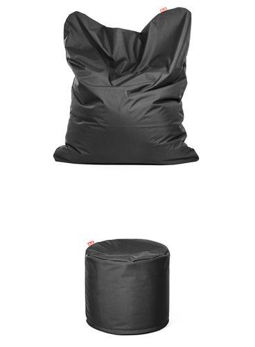 Výhodný Set Sofa + Otto Polyester Tmavo sivá