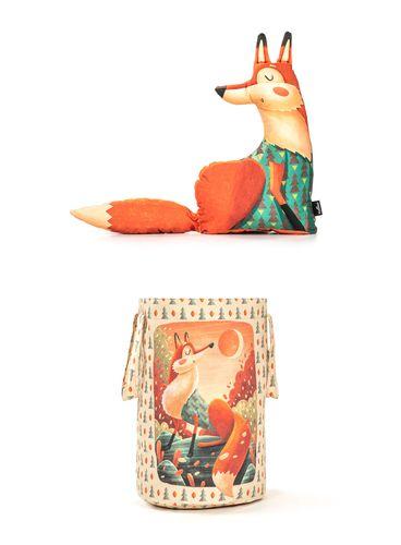 Výhodný set VankúŠik a Kôš na hračky veľký Líška