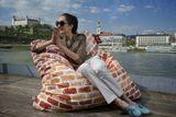 Výhodný set Smart Polyester Tyrkysová + Neónová