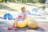 Tuli Relax - Polyester Ružová