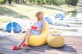 Tuli Relax Nesnímateľný poťah - Polyester Tyrkysová