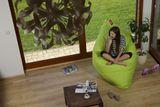 Tuli Sofa - Polyester vzor Fresh