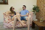 Tuli 3Color Double Snímateľný poťah - Polyester Vzor Fresh