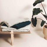 AGNES detská deka - Bodky a mätová