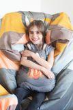 Tuli Sofa Snímateľný poťah - Universal Lososová oranžová