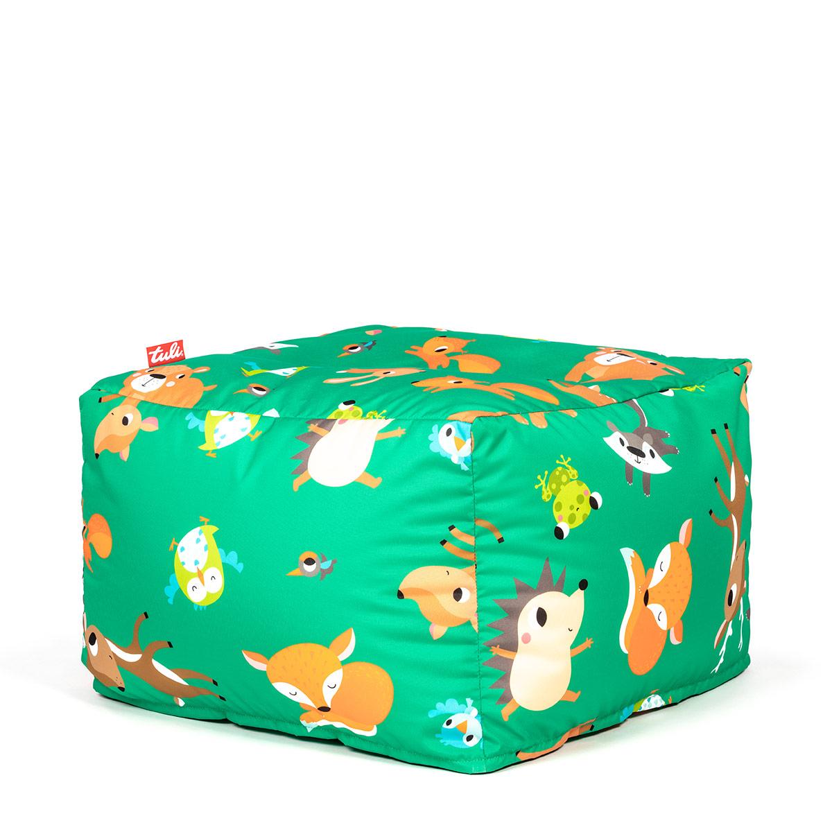 Tuli Block Náhradný obal - Polyester Vzor Lesné zvieratká