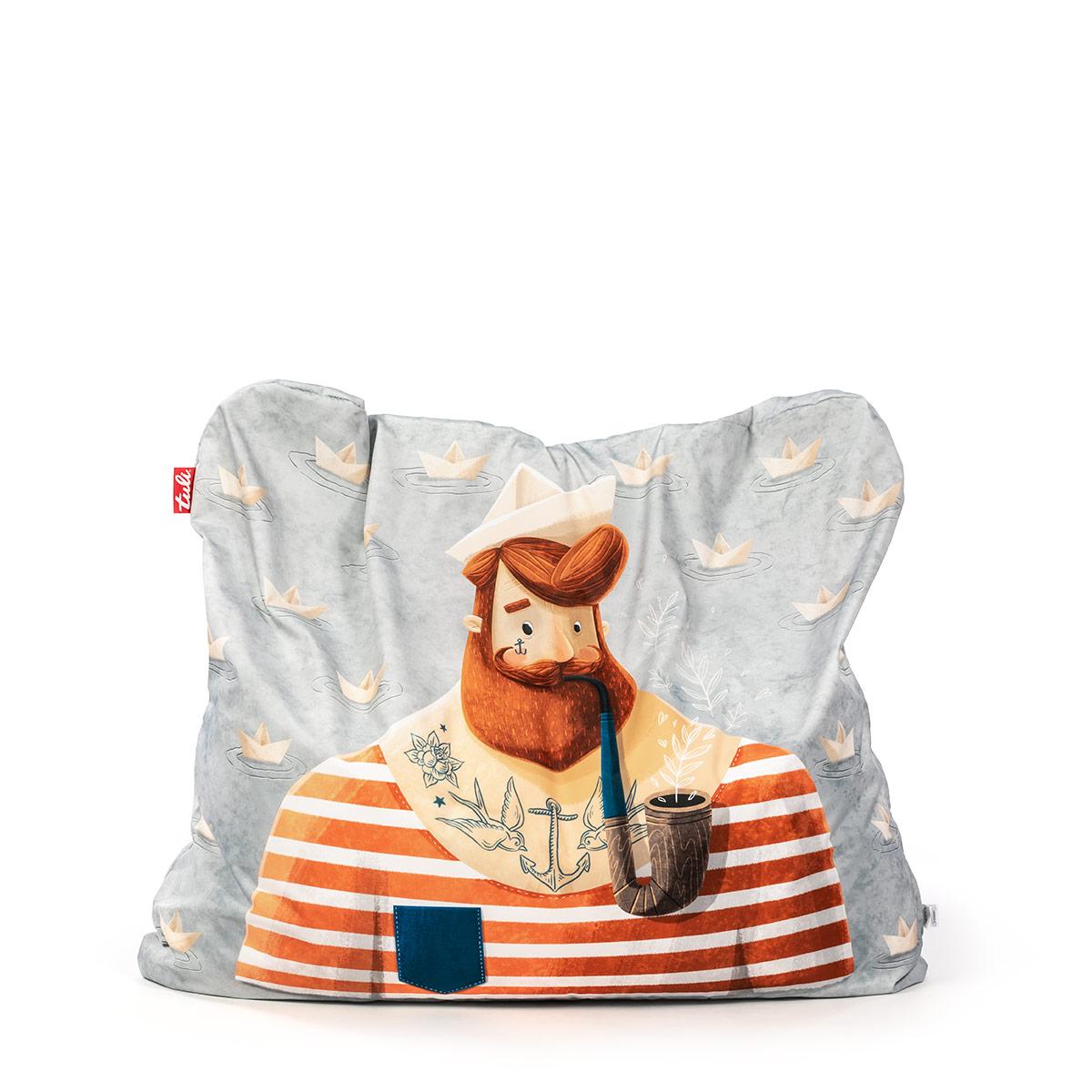 0f7bf63699c5 Tuli Funny Snímateľný poťah - Polyester Vzor Námorník - Sedacie vaky ...