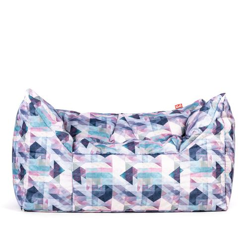 Tuli 3Color Double Snímateľný poťah - Polyester Vzor Pastel