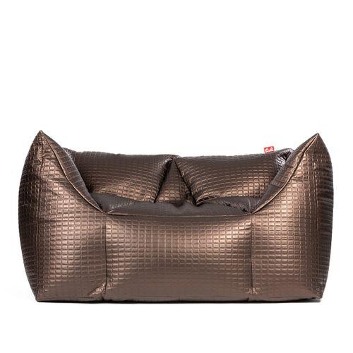 Tuli 3Color Double Nesnímateľný poťah - Syntetická koža Luxury Hnedá