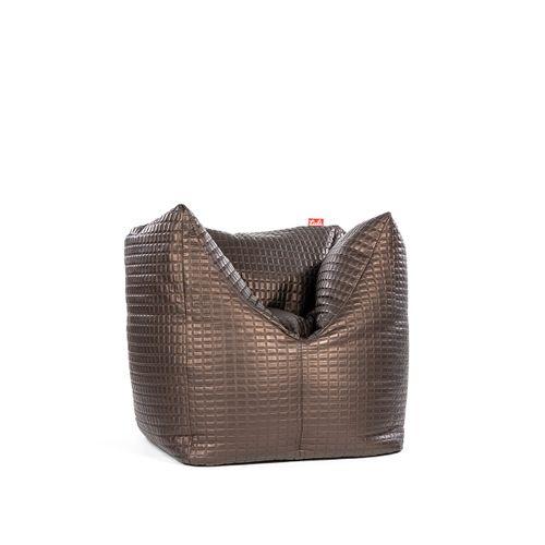 Tuli 3Color Nesnímateľný poťah - Syntetická koža Luxury Hnedá