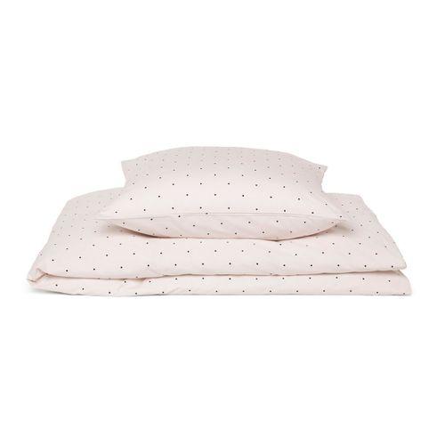 BABY posteľná bielizeň - Bodky a sladká ružová
