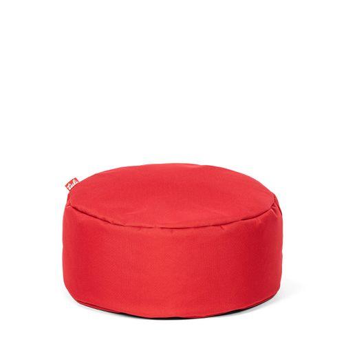 Tuli Puf Nesnímateľný poťah - Polyester Tmavá červená