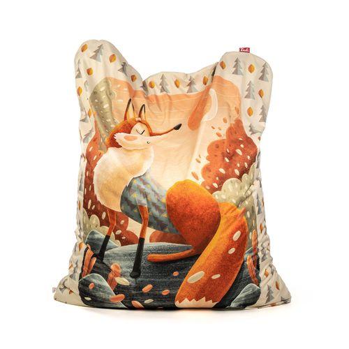Tuli Sofa náhradný obal - Polyester vzor Líška