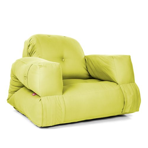 Tuli Futón Kreslo Bonsaj - Bavlnka Svetlo zelená