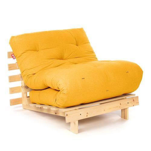 Tuli Futón Pohovka Suki - Prírodná+Žltá