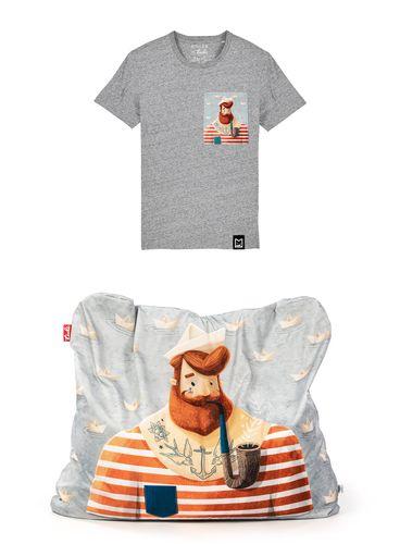 Výhodný set Detské tričko + Funny Námorník