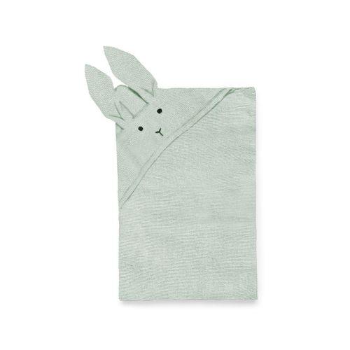WILLIE pletená deka - Zajko mätová