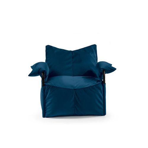 Tuli Corny Rest Snímateľný poťah - Zamat Kráľovská modrá